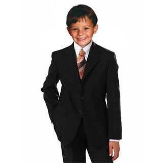 Johnnie Lene Boys Black Dress Suit Set Many Sizes