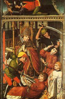 1505 Low Countries Liege John of Hoorn Gold Postulat Florin Coin