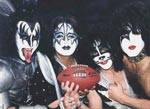 """Kurt Adler 3 7"""" Kiss Band Star Child Resin Christmas Ornament Rock Roll"""