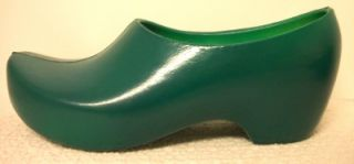 Womens Bright Green Garden Clogs Removable Footbed 6 36