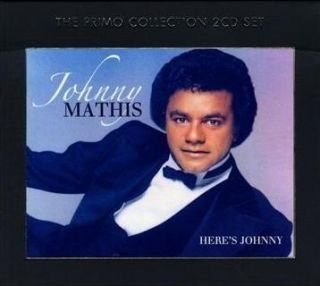 Johnny Mathis Here's Johnny Best 40 Song New 2 CD