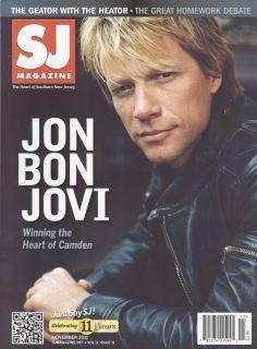 Jon Bon Jovi Rare SJ Magazine Mint