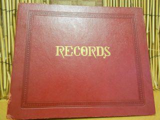 Vintage Joni James 45 RPM 13 Records with 12 Sleeve Record Album