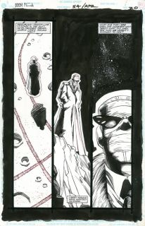 Richard Case Doom Patrol 54 P20 Original Comic Art Grant Morrison