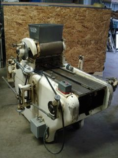 GJ Joosten Cookie Dough Cutter Depositor Machine