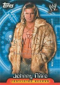 2006 WWE Diva Subset of 11 Cards Topps Insider Series