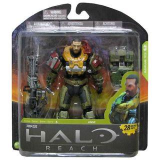 Halo Reach Series 4 UNSC Jorge McFarlane 6 Inch