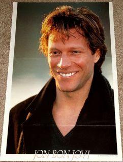 Jon Bon Jovi Beautiful Smile Solo Poster RARE Import