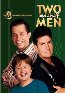 Two and a half Men Complete Season Three New DVD Set Charlie Sheen Jon Cryer