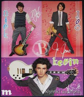 Jonas Brothers Centerfold Poster 1730A Demi Lovato