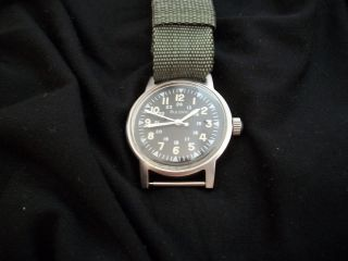 Military Wrist Watch Vietnam Era Bulova