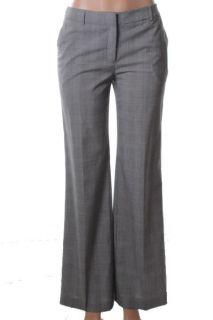 Jones New York NEW Black Ivory Flat Front Flare Dress Pants 4 BHFO