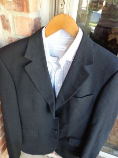 Jos Joseph A Bank Navy Blue Mens Blazer Jacket Sport Suit Coat 42L 44L Long Tall