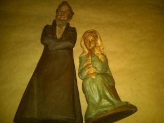 JOSEPH II AND MARY HOLDING BABY JESUS TOM CLARK GNOMES