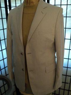 D23 20R Joseph Abboud Cream Blazer Sport Coat Jacket