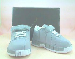 Nike Jordan TE II Advance Kids Shoes Stealth White Size 5 C Brand New