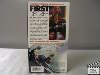 First Degree VHS Rob Lowe Leslie Hope Tom Mccamus Joseph Griffin 780063664936