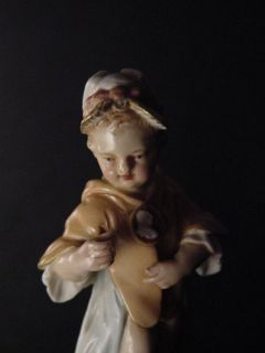KPM Porcelain Lovely Young Boy C 1840