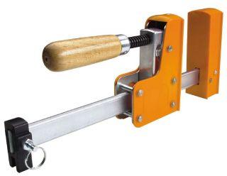 """1 Pair 24"""" 8024 Jorgensen 90 Deg Parallel Jaw Cabinet Master Steel Bar Clamp"""