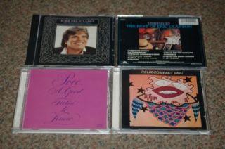 Eric Clapton Timepieces Poco Jose Feliciano Hits Jorma Kaukonen 4 CD Lot