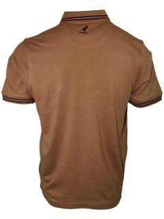New Mens KANGOL Joshua 656 Designer Branded Polo Neck T Shirt Top Sizes s 5XL