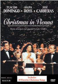 Christmas in Vienna Placido Domingo Holiday Songs DVD