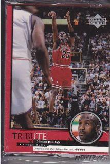 1999 Upper Deck Michael Jordan HUGE 30 Card Tribute Sets 60