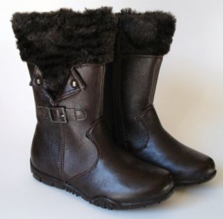 Toddler Girls Josmo Shoes Fashion Boots Brown SZ 5 TXD00133BR