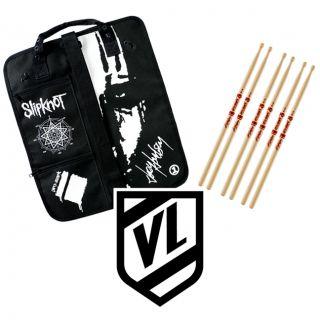 Joey Jordison Signature Drumsticks 3pr Pro Mark TX515 Slipknot Stick Bag Jbag