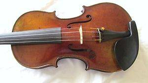 Fine old GERMAN violin labeled FRIEDRICH ERNST