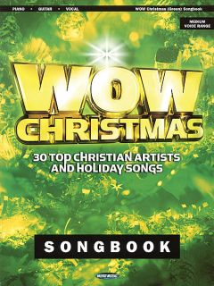 WOW Christmas Piano Vocal Guitar P V G Sheet Music Song Book