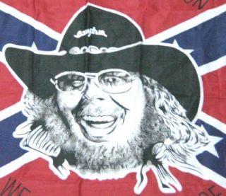 Hank Williams Jr Confederate Rebel Flag