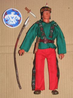 70's Gabriel Marx Lone Ranger Bootleggers Indian Doll