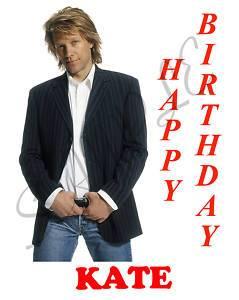 Personalized Jon Bon Jovi Birthday T Shirt Gift
