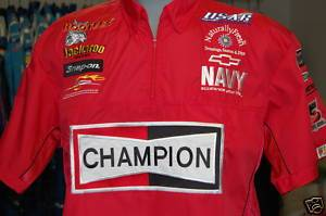 Jr Motorsports Champion Crew Shirt