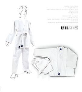 Judogi Junior Bambino Bimbo Uniforme Greenhill 140 Judo Gi Kimono Cotone Bianco