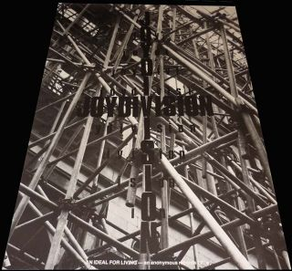 Joy Division An Ideal for Living Promo Poster Mint Original RARE UK Anonymous