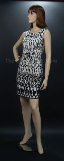 Joyce Female Full Body Fiberglass Mannequin Fleshtone with Wig