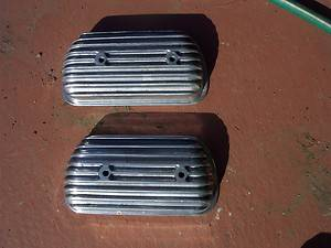 VW 36HP Cast Alloy Valve Covers 25HP Okrasa Denzel Judson Bug Bus Ghia Oval