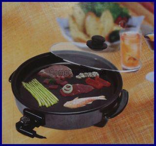 Multi Plancha Grill Electrica Para Paella Y Pizza 40cms