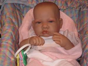 Antonio Juan of Spain Soft Vinyl Real Baby Girl 3lb Most Beautiful Baby Ever
