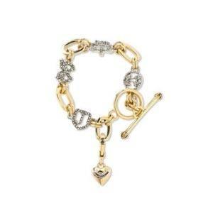 Juicy Couture Golden Luxe Starter Charm Bracelet $88