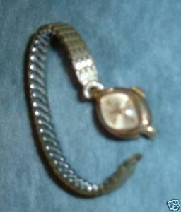 Vintage 14k Gold Jules Jurgensen Ladies Wrist Watch