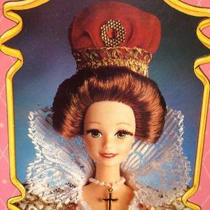 1 Barbie as Queen Elizabeth The First Great Eras Collection 1994 Doll 074299127922