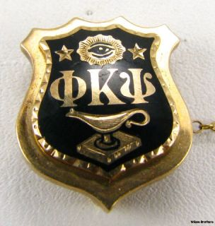 PHI Kappa PSI Alpha XI Delta 10K Gold Fraternity Sweetheart Set Pins Badges