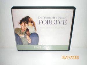Joyce Meyer do Yourself A Favor Forgive 4 CD Teaching