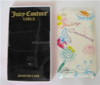 NIB Juicy Couture IPod Touch 4th Generation Cover Case Multi Flower Butterfly