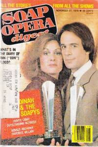 Soap Opera Digest 1979 Judith Light One Life Live Oltl Magazine Gerald Anthony