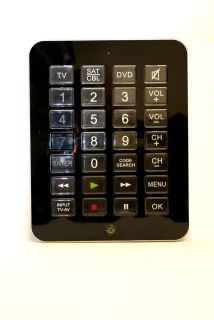 Jumbo Universal Remote Control for 3 Devices Extralarge Buttons TV DVD