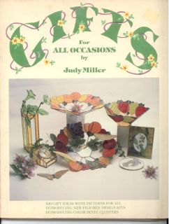 Gifts for All Occasions Judy Miller Glass Patterns